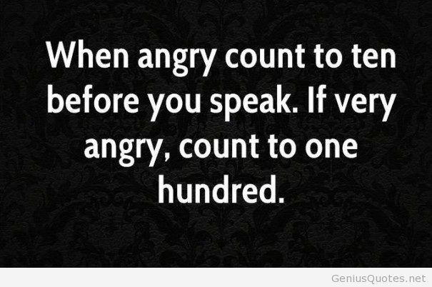 Mind Blowing Anger Sayings