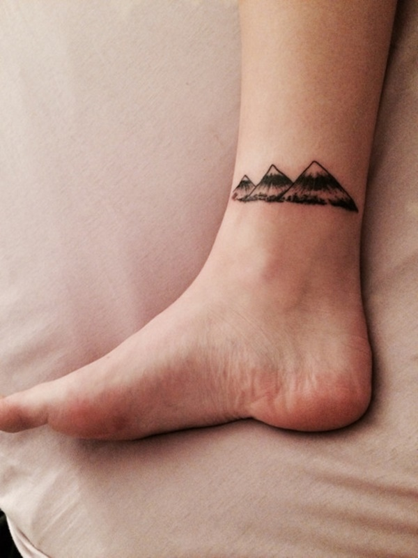 Mind Blowing Ankle Tattoo