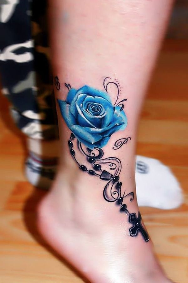 Mind Blowing Ankle Tattoos Designs
