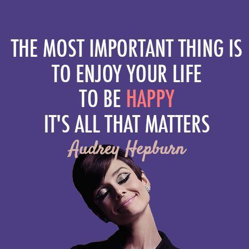 Mind Blowing Audrey Hepburn Quotation