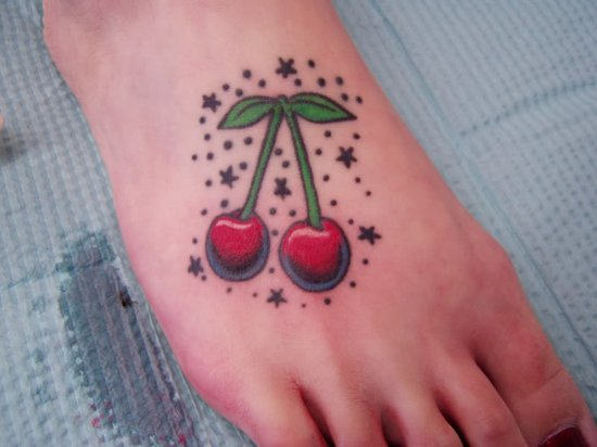 Mind Blowing Cherry Tattoos Designs