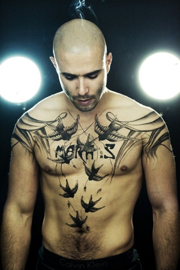 Mind Blowing Chest Tattoos