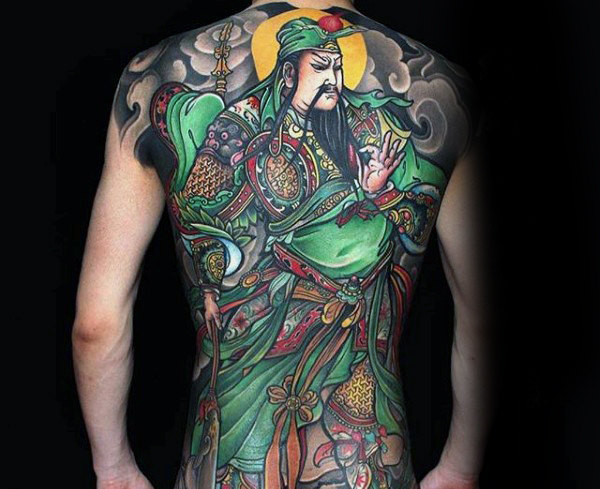Mind Blowing Chinese Tattoo