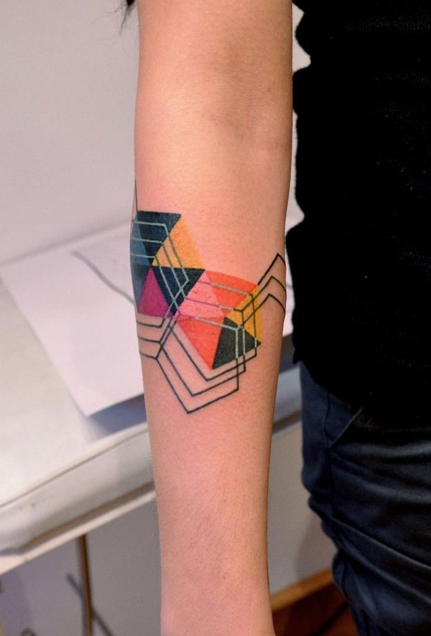 Mind Blowing Colorful Tattoo Designs