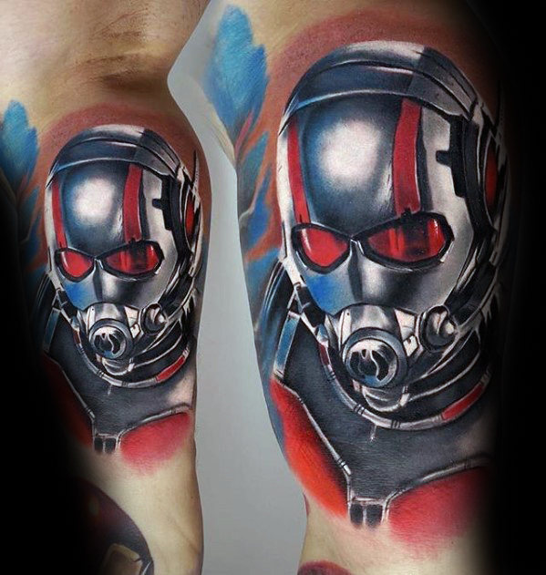 Mind Blowing Comic Tattoo Designs