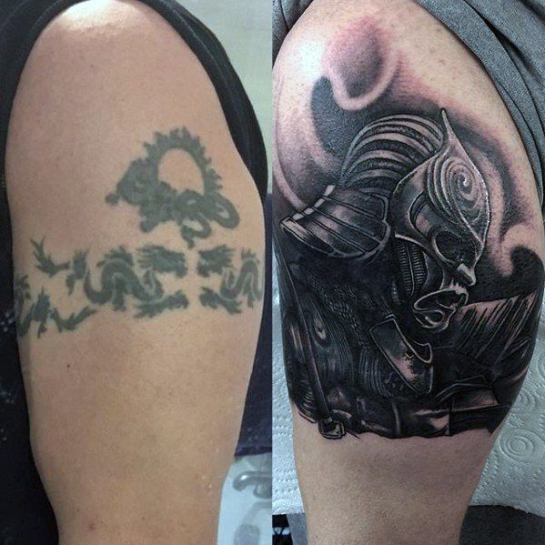 Mind Blowing Cover Up Tattoo