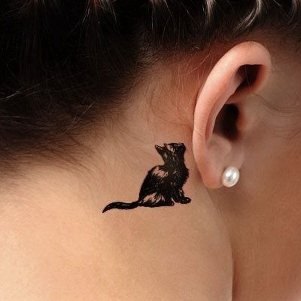 Mind Blowing Ear Tattoos Designs