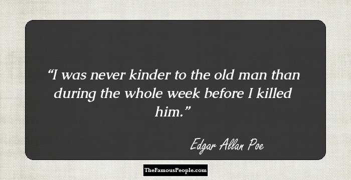 Mind Blowing Edgar Allan Quotation and Sayings