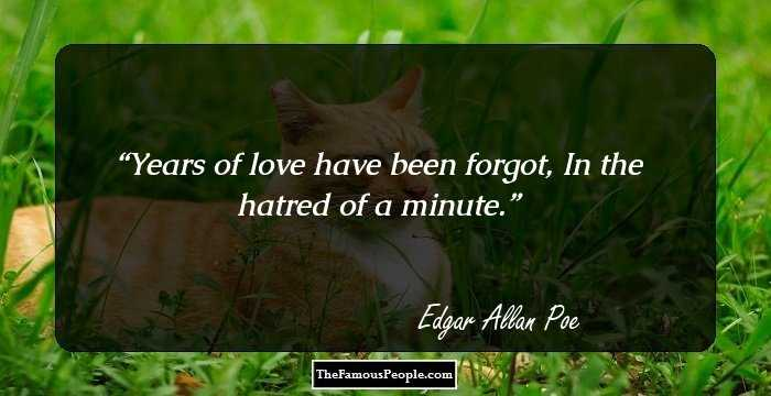 Mind Blowing Edgar Allan Quotations and Sayings