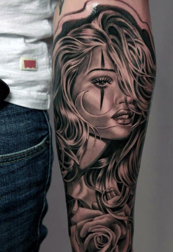 Mind Blowing Forearm Tattoo