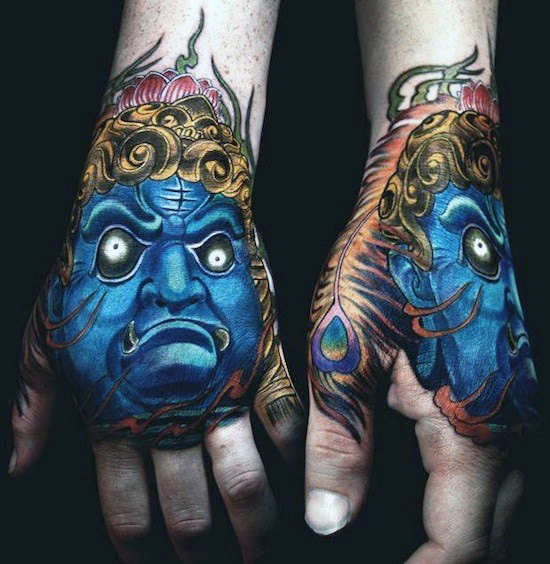 Mind Blowing Hand Tattoos