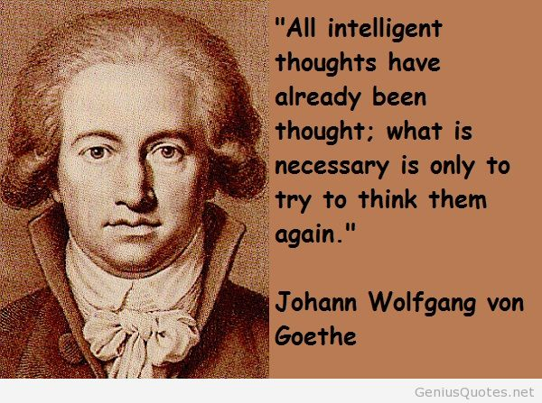 Mind Blowing Johann Wolfgang Von Goethe Quotes