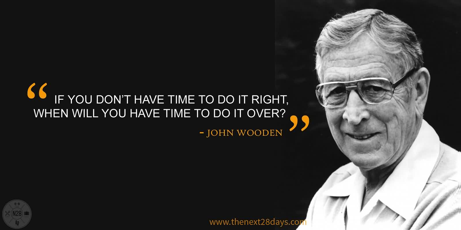Mind Blowing John Wooden Quotes