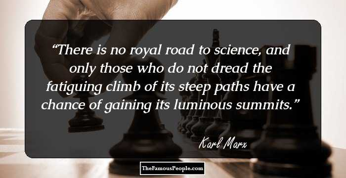 Mind Blowing Karl Marx Quotation