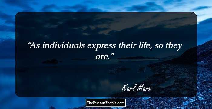 Mind Blowing Karl Marx Quotations and Sayings