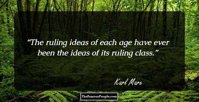 Mind Blowing Karl Marx Sayings