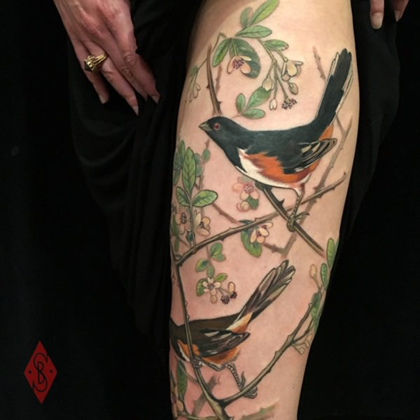 Mind Blowing Thigh Tattoo Designs