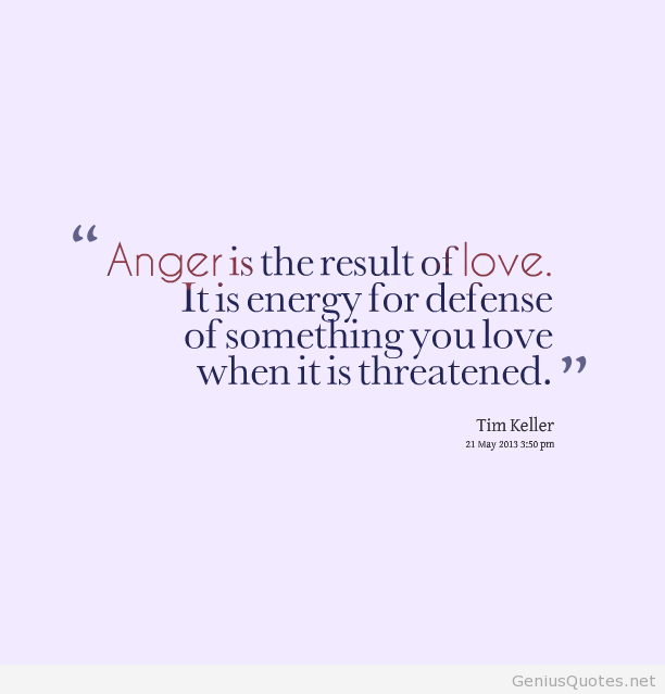 New Anger Quotations