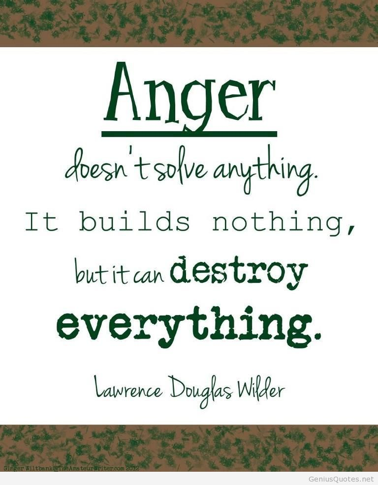 New Anger Quotes
