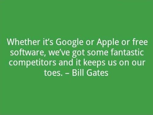 New Bill Gates Quotation