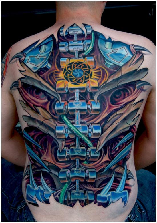 New Biomechanical Tattoo
