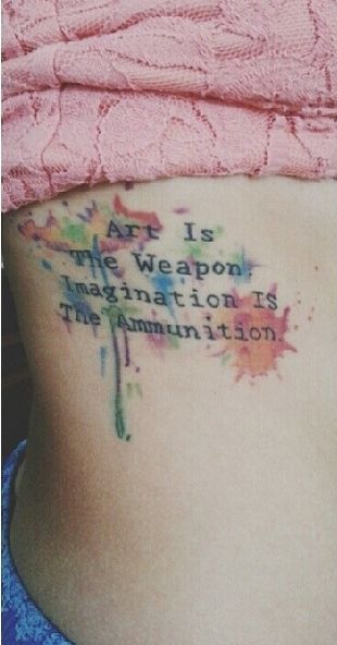 New Colorful Tattoos Designs