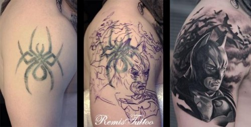 New Cover Up Tattoos Designs