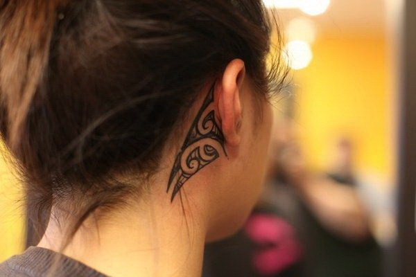 New Ear Tattoos Designs