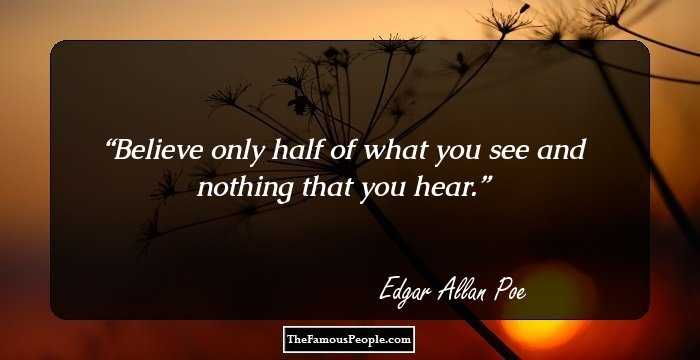 New Edgar Allan Quotation and Sayings