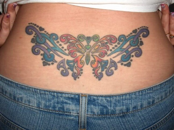 New Lower Back Tattoos