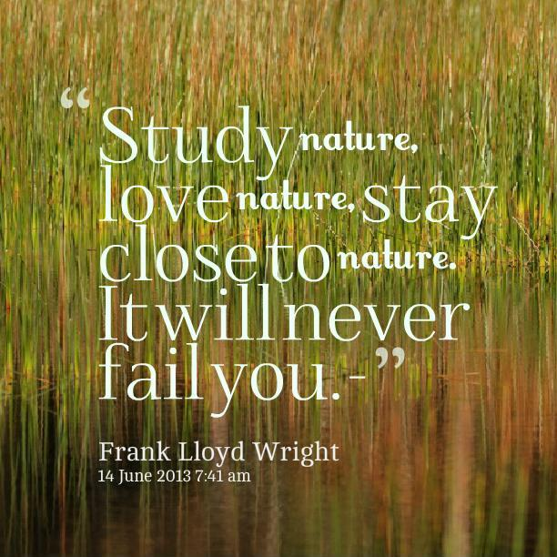 New Nature Quotations