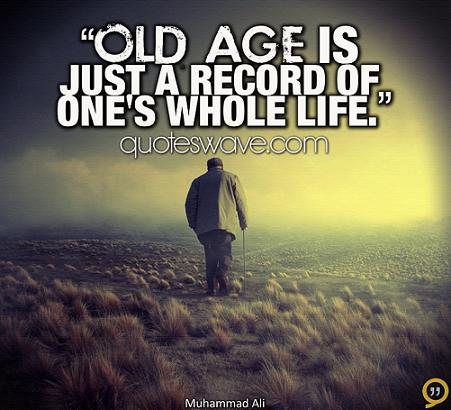 Nice Age Quotes