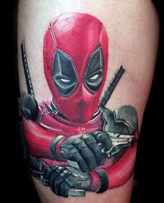 Nice Comic Tattoo Designs