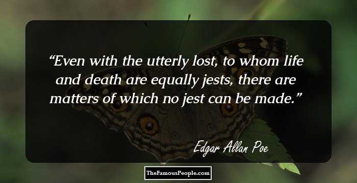 Nice Edgar Allan Quotations and Sayings