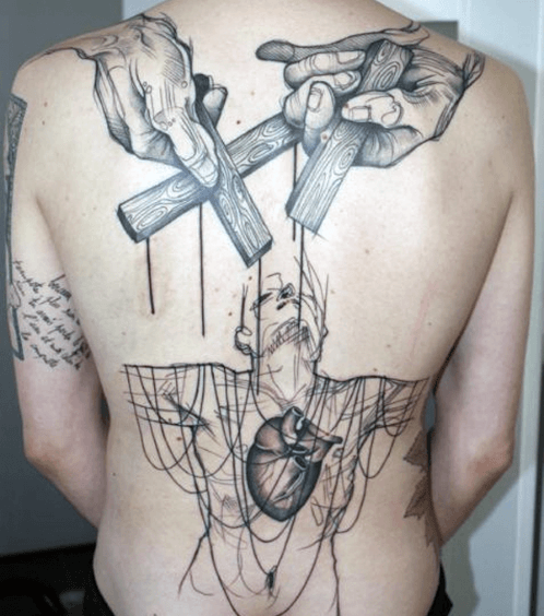 Outstanding Abstract Tattoos