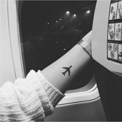 Outstanding Airplane Tattoo Designs
