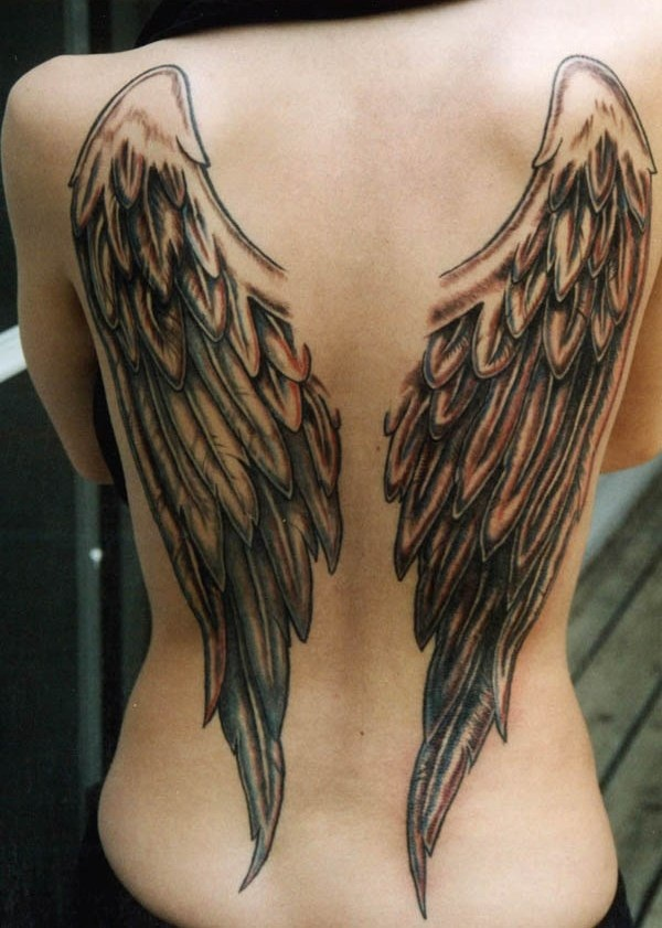 Outstanding Angel Tattoo