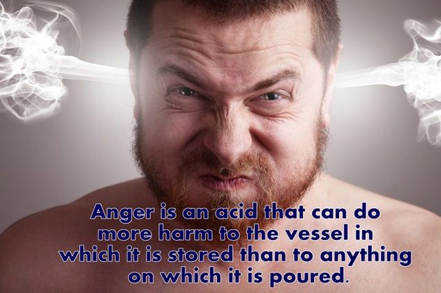 Outstanding Anger Sayings