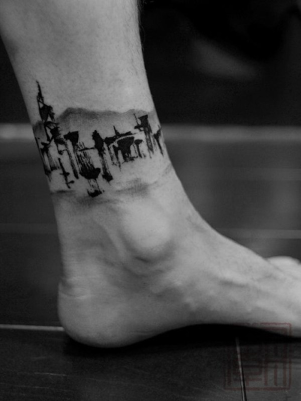Outstanding Ankle Tattoos Designs