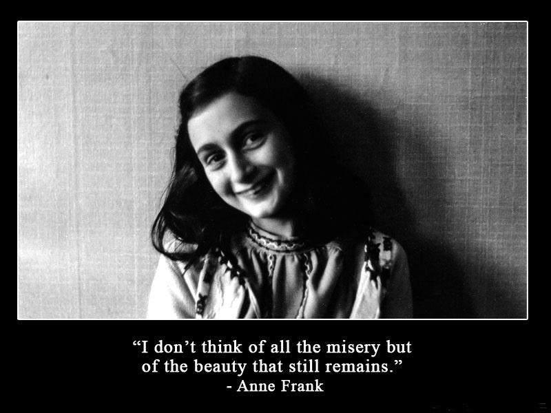 Outstanding Anne Frank Sayings