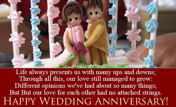 Outstanding Anniversary Wishes