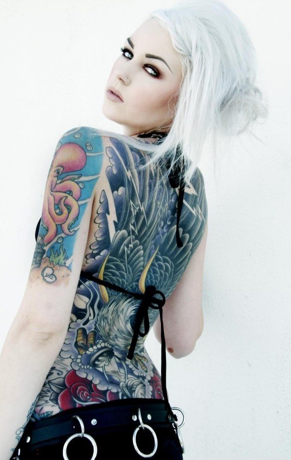 Outstanding Back Tattoo