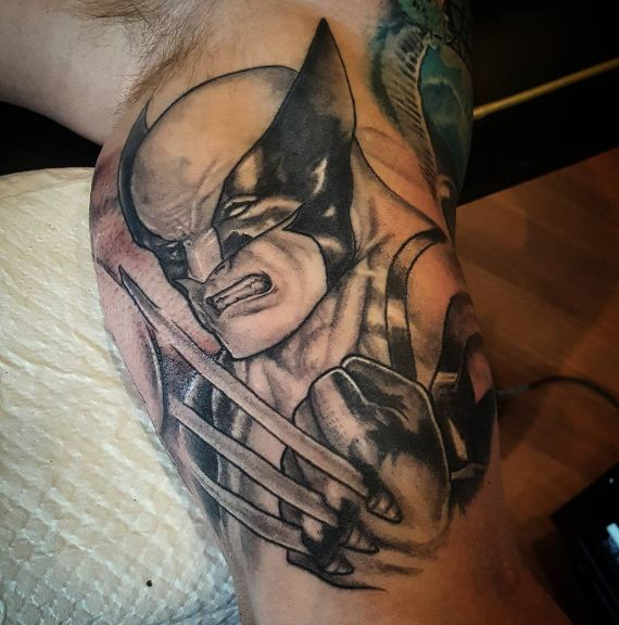 Outstanding Bicep Tattoo