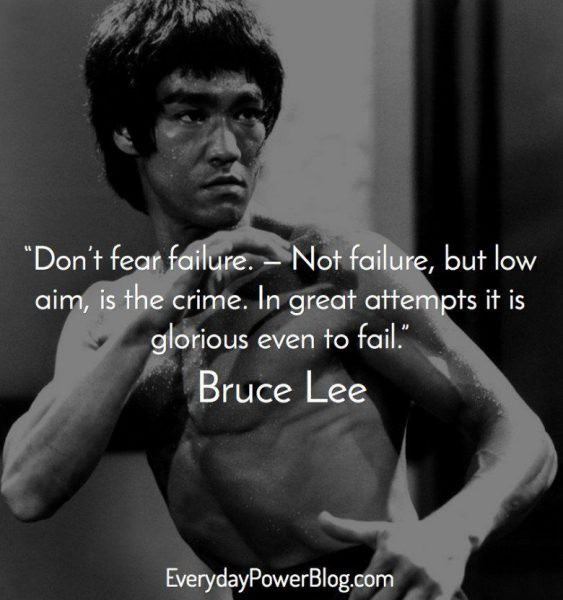 Outstanding Bruce Lee Quotations