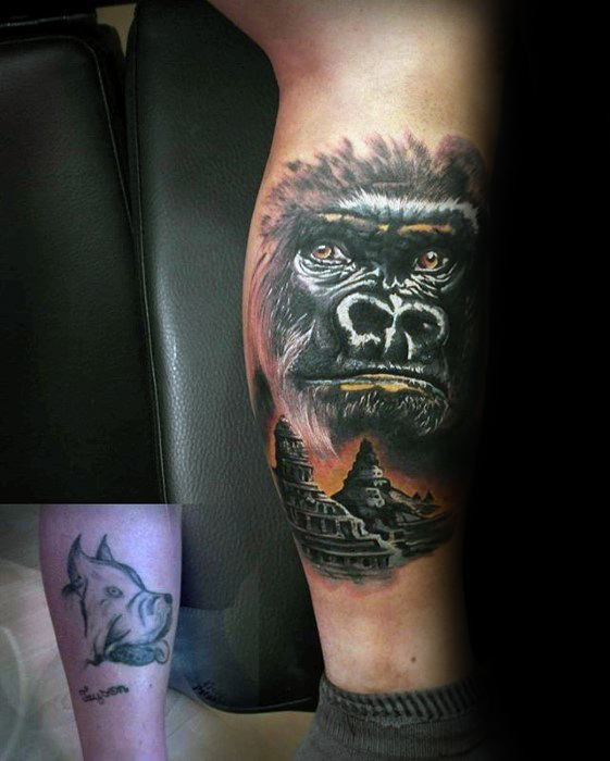 Outstanding Cover Up Tattoos Design