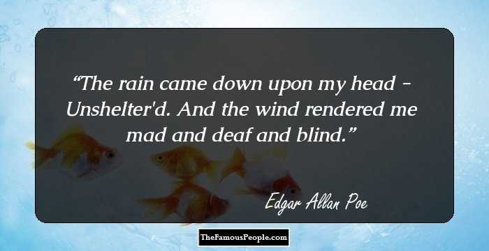 Outstanding Edgar Allan Quotation and Sayings