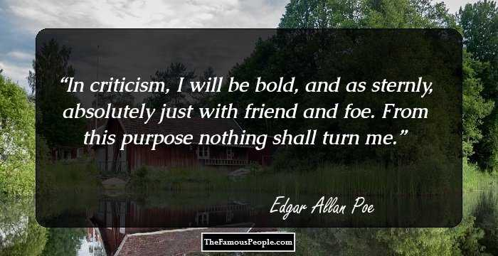 Outstanding Edgar Allan Sayings