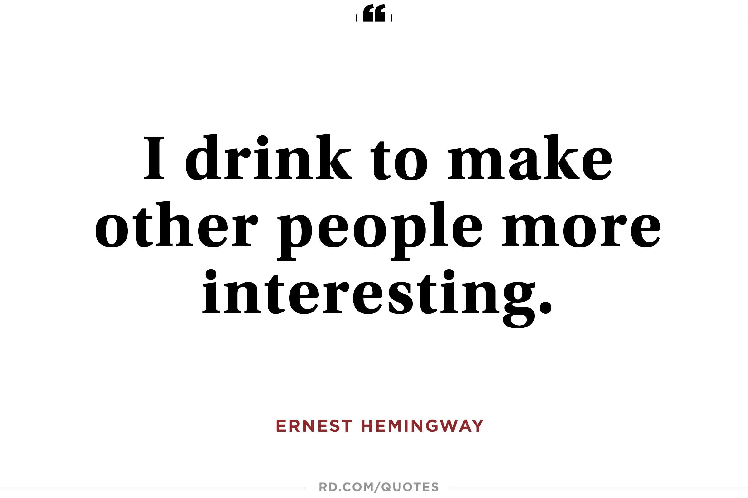 Outstanding Ernest Hemingway Quotes