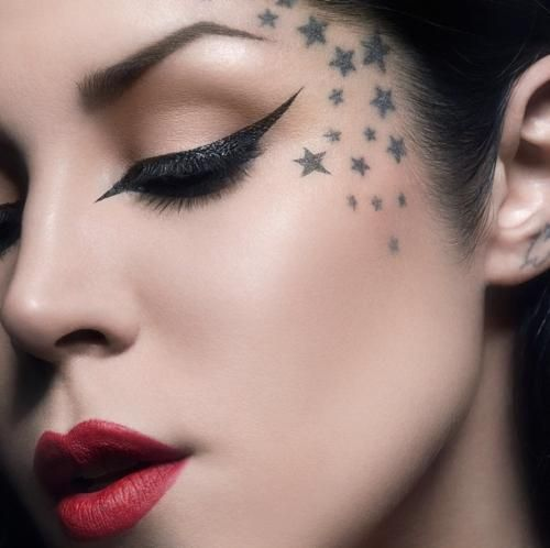 Outstanding Face Tattoos Designs