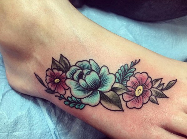 Outstanding Foot Tattoos Designs